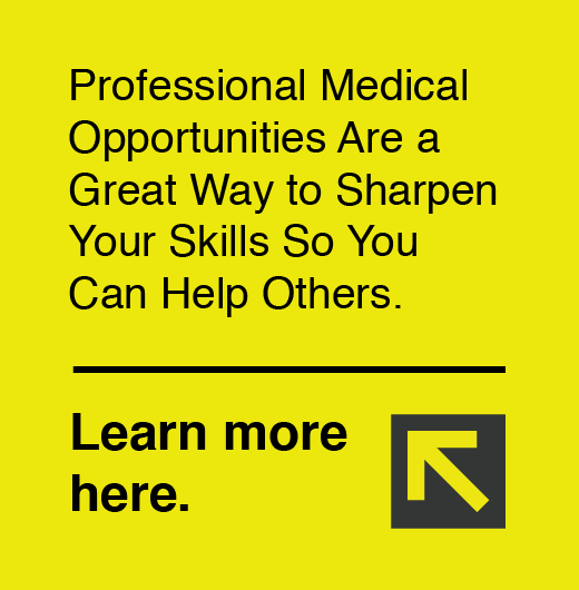 Professional Medical Opportunities